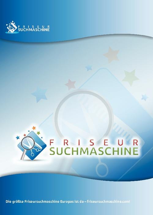 Friseursuchmaschine Flip-Presentation