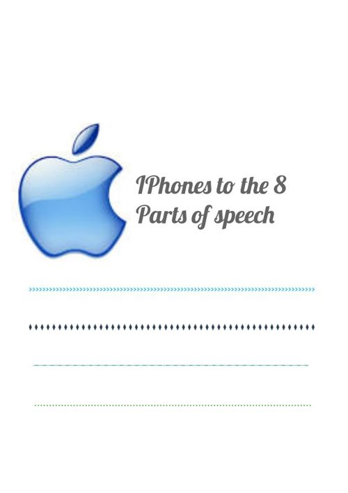 IPhone 8 parts of speech