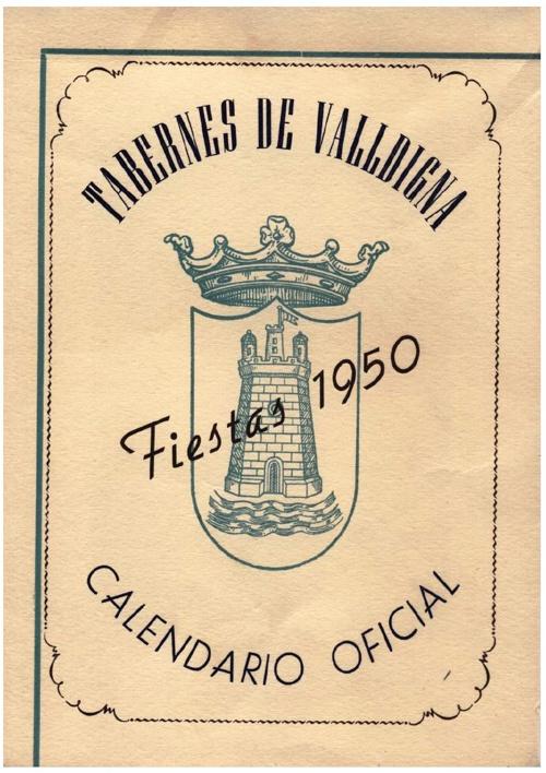 Libro fiestas 1950