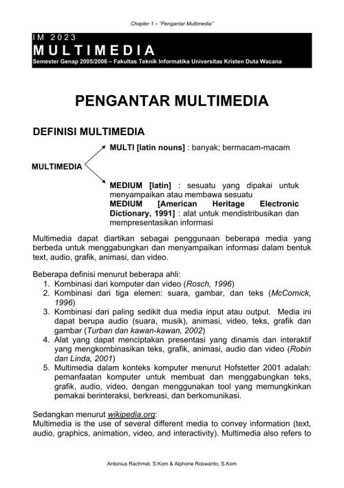 PengantarMultimedia