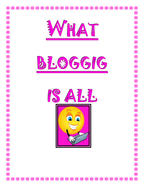 What Blogging is all about