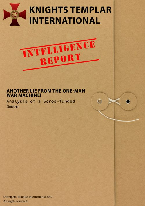 Intelligence Report - 27th April 2017