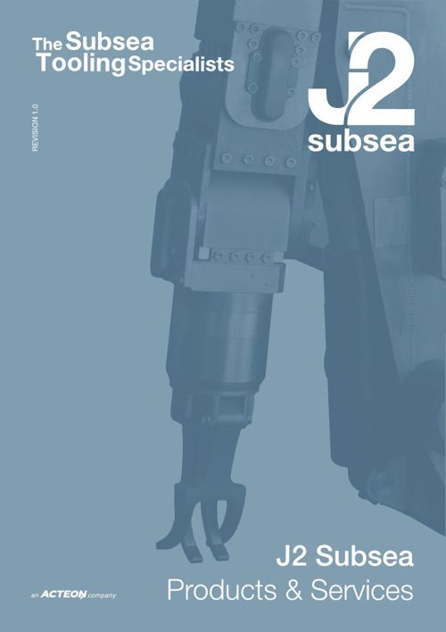 J2 Subsea Products and Services Catalogue