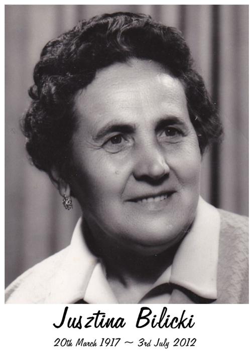 Jusztina Bilicki