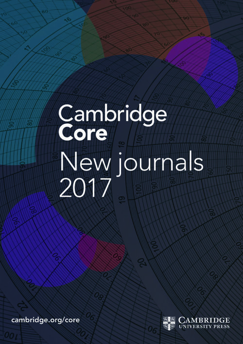 2017 New Journals Leaflet