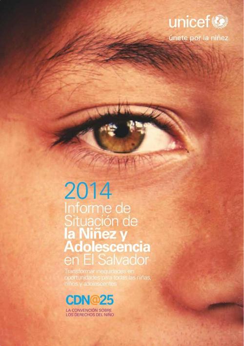 Informe de situación de la niñez y adolescencia en El Salvador