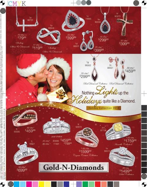 Gold N Diamonds - Atlanta , GA - Christmas Flyer 2013