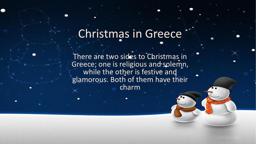 Christmas in Greece Part 1
