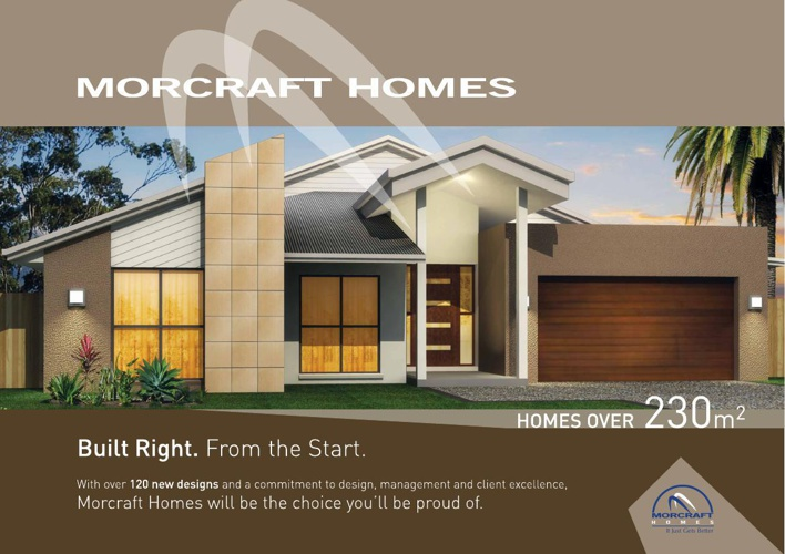 Morcraft Homes over 230sqm