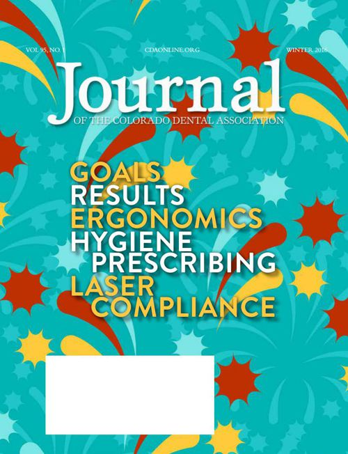 Winter 2016 Journal of the Colorado Dental Association