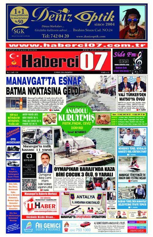 Haberci07 Gazetesi 124.sayı