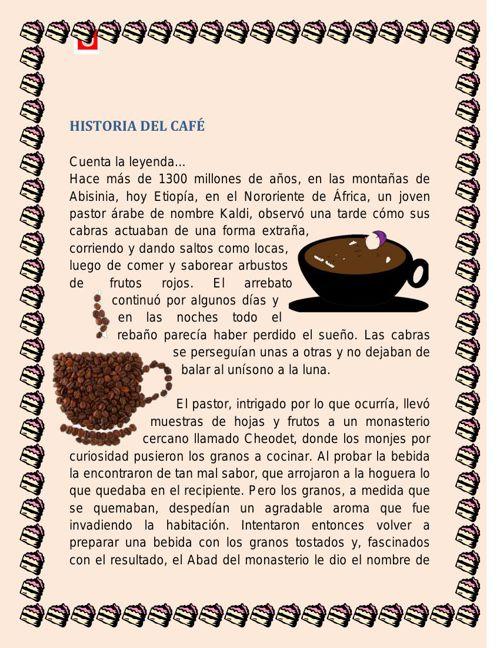 HISTORIA DEL CAFE NAZA sesion 5.12