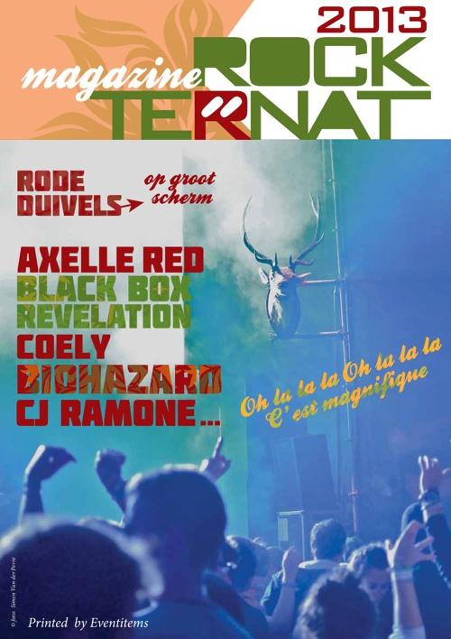 Rock Ternat magazine 2013
