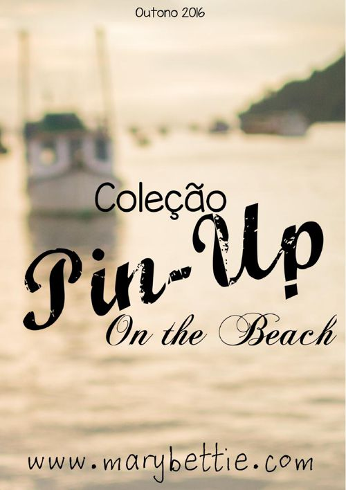 Coleçao Pin Up On the Beach