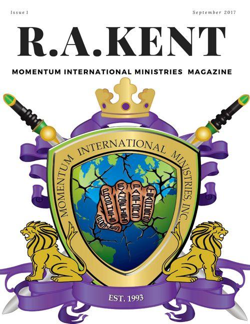 R.A.Kent online magazine prototype