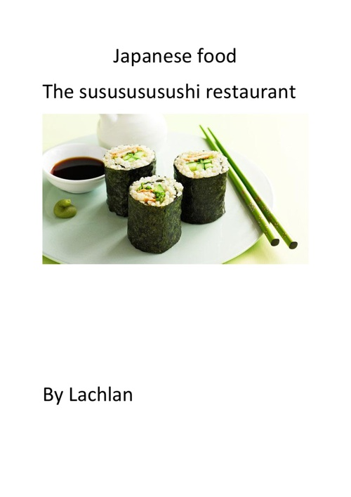 ordering food lachlan b
