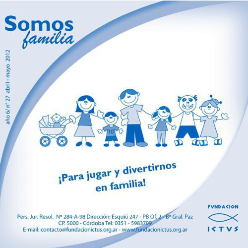 "Boletín ""Somos Familia"" N°27 - 2012"