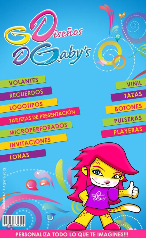 CATÁLOGO DISEÑOS GABYS