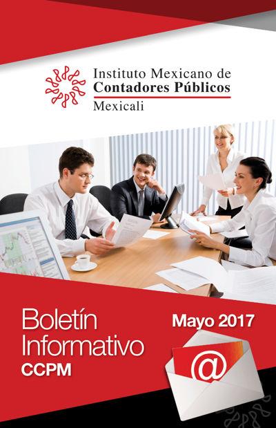Boletín Informativo - Mayo 2017