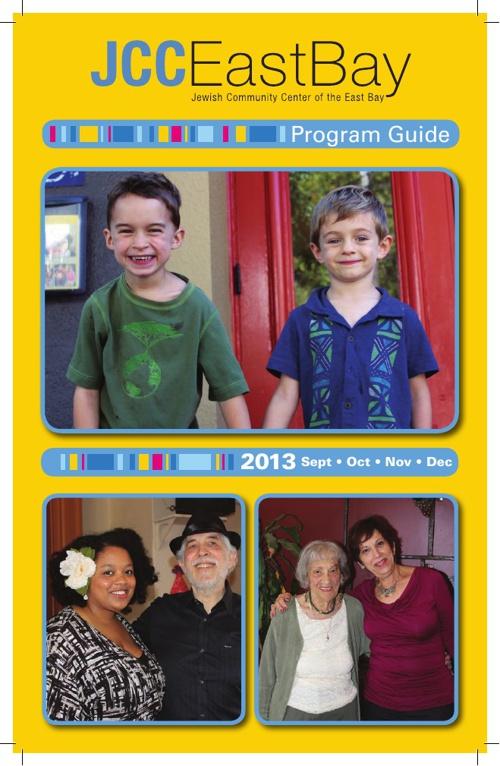 JCC East Bay Program Guide Fall 2013