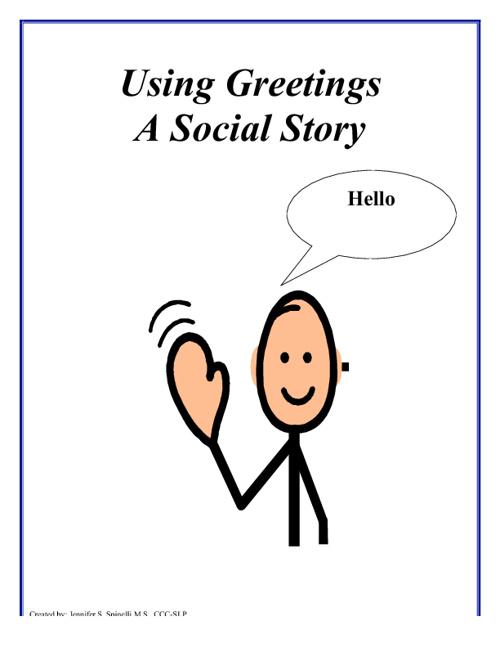 Saying Hello & Goodbye