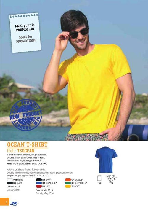 catalogue textile publicitaires - Charly Textiles
