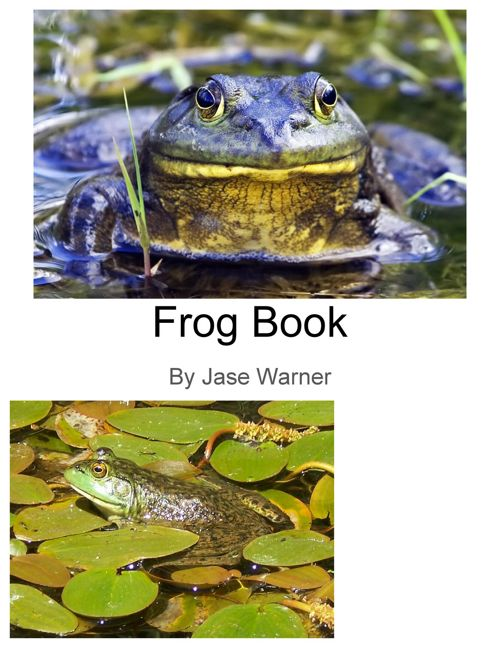 Frog Book Warner
