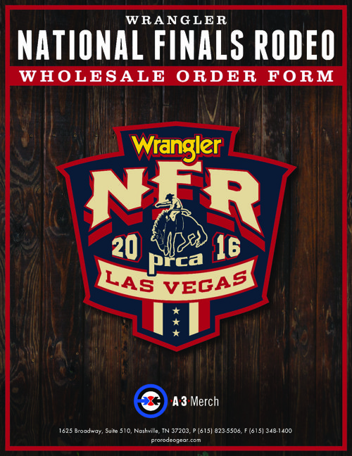 NFR 2016 WHOLESALE CATALOG