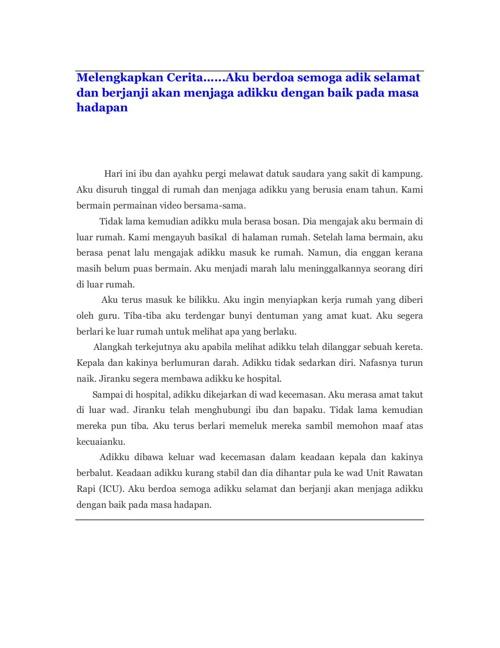 Karangan Bahasa Malaysia