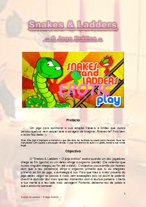 Snakes &Ladders -The Eroitic Game-