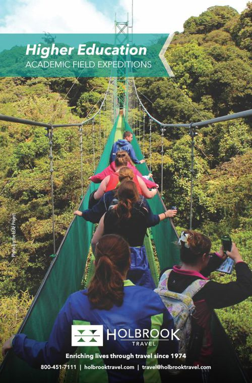 Holbrook Travel - Higher Education Catalog 2016