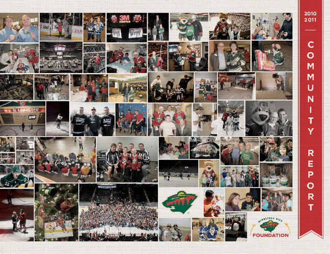 Minnesota Wild Community Report 2010-2011