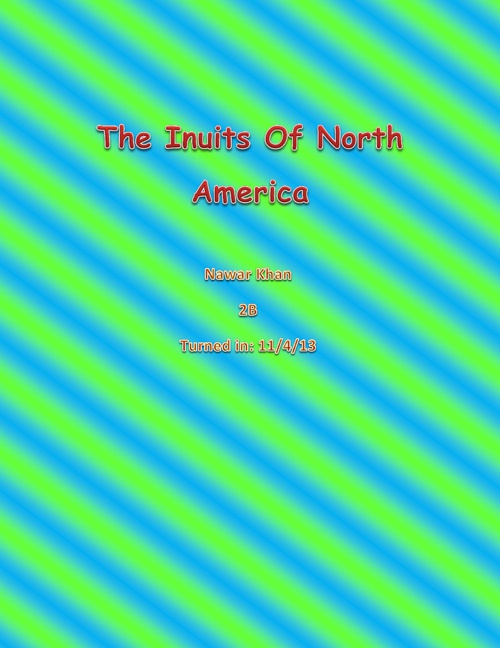 The Inuits of the world