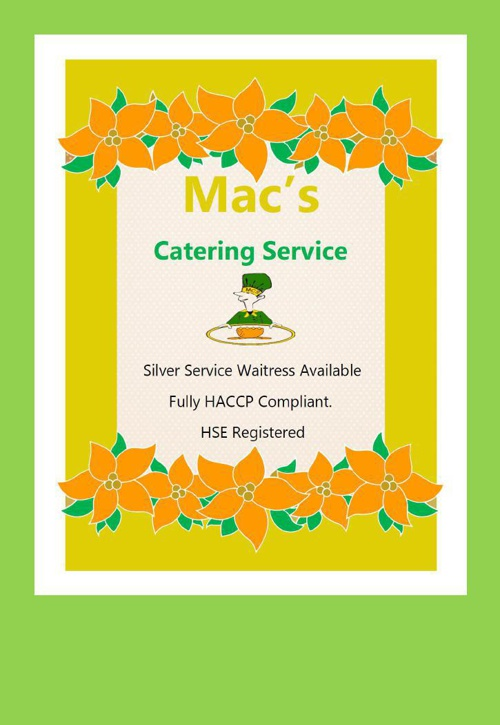 Mac-Catering-Menus