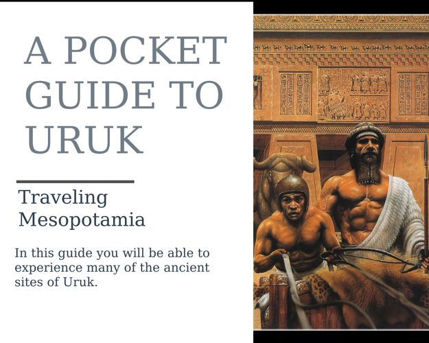 The City of Uruk Travel Brochure
