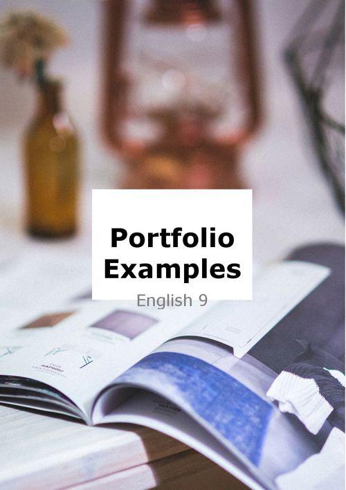 EXAMPLES of Portfolio