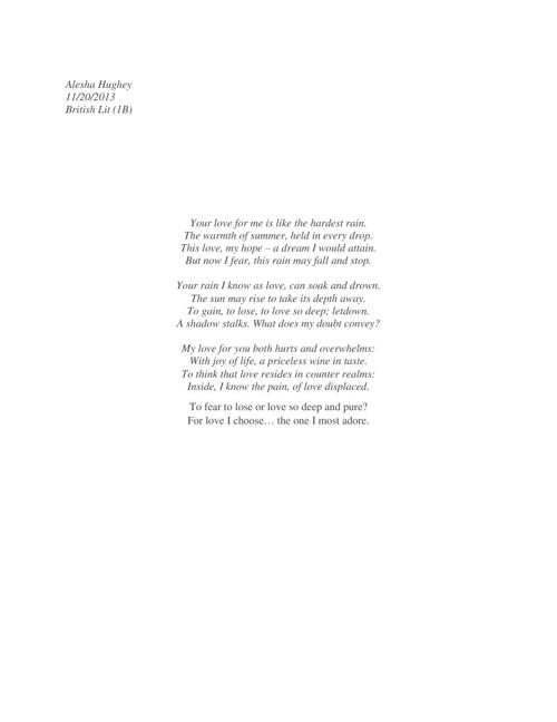 shakespear poem
