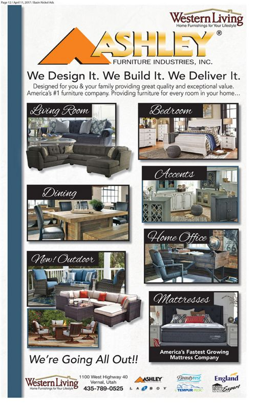 Live Better with Ashley, Tempur-Pedic & Beautyrest!