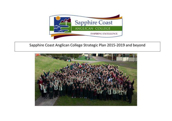 Strategic Plan 2015 to 2020
