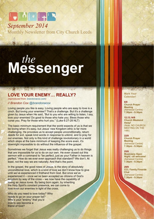 The Messenger - September 2014