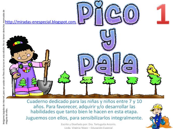 Pico y Pala 1, Cuaderno Especial. Virginia Yépez