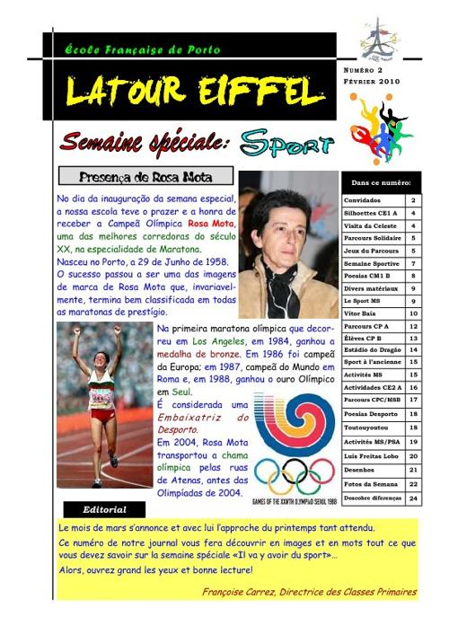 Jornal - Latour Eiffel (Desporto)
