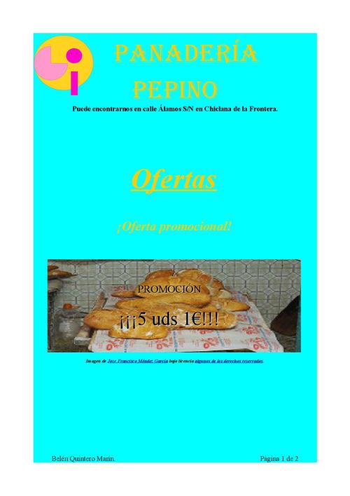 Panadería Pepino