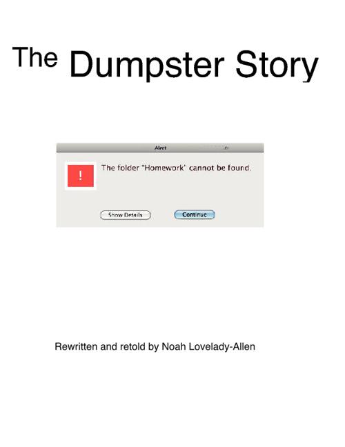 Dumpster Story