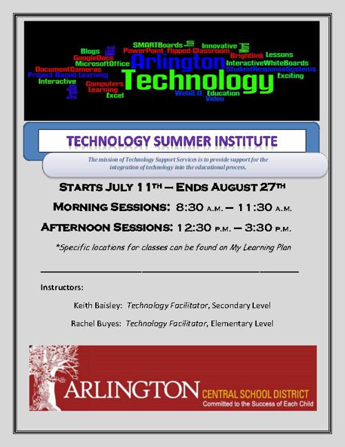 Arlington CSD: Technology Summer Institute