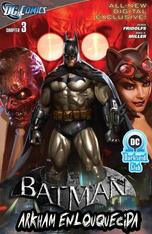 Batman Arkham Enlouquecida #03