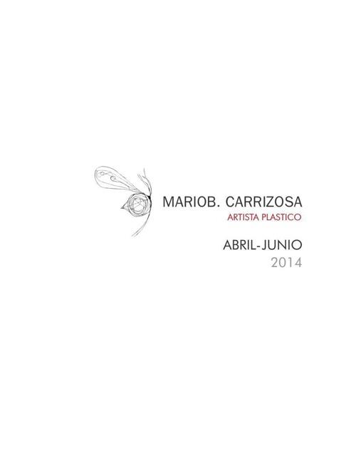 MARIOB. CARRIZOSA CATALOGO II 2014