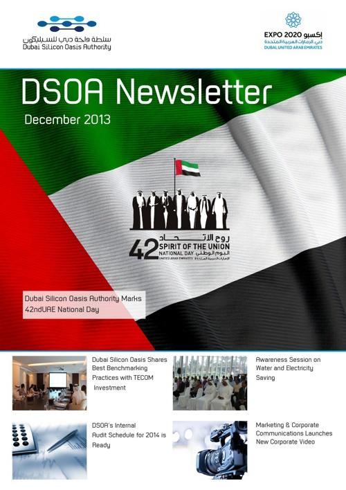 DSOA Newsletter December 2013