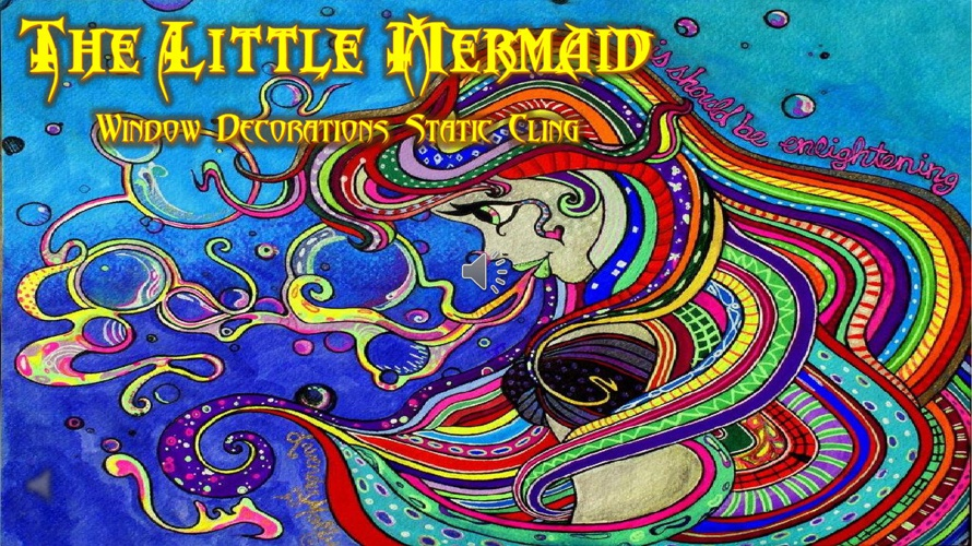 The Little Mermaid Window Decoration Catalog