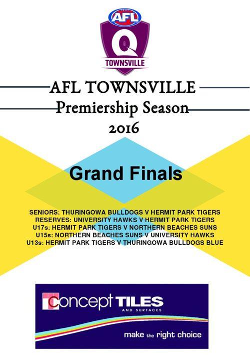 AFLT Record Grand Finals